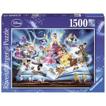 Disneys magische sprookjesboek puzzel - 1500 stukjes