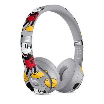 Beats Solo3 Bluetooth Headset Edition 90th Anniversary Mickey Grey