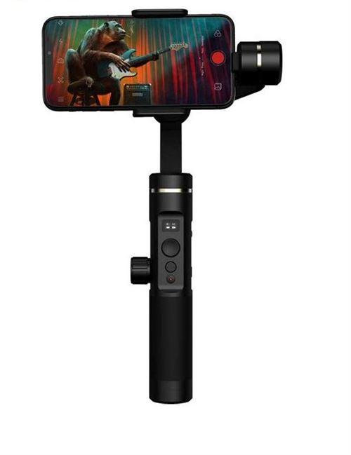 Stabilisateur Bluetooth 3 axes avec mode auto follow et écran OLED pour smartphone