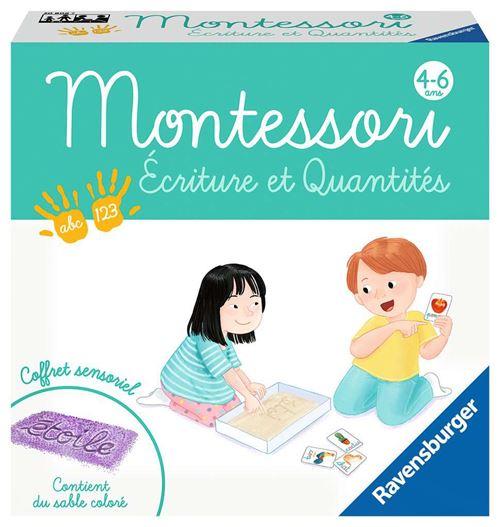 Jeu découverte Ravensburger Montessori Ecriture et quantités