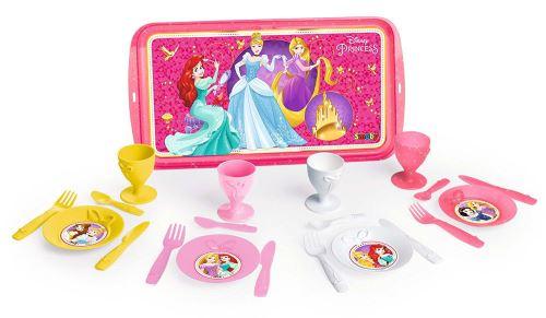 Plateau Dinette Disney Princesses Smoby + 21 Accessoires