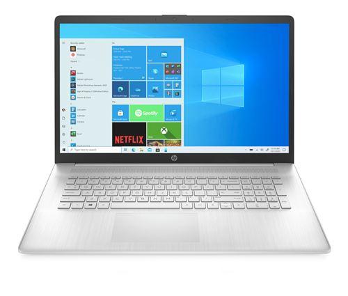 "PC Portable HP 17-cp0268nf 17.3"" AMD Ryzen 7 16 Go RAM 128 Go SSD + 1 To SATA Argent naturel"
