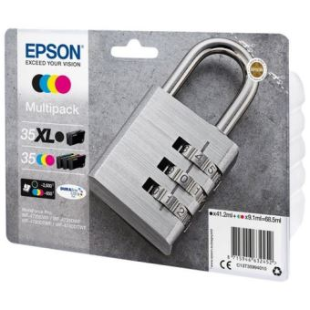 Epson 35XL Multipack - 4 - zwart, geel, cyaan, magenta - origineel - inktcartridge