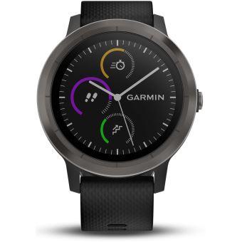 60 sur montre connect e de sport garmin vivoactive 3 avec gps et cardio poignet grise avec. Black Bedroom Furniture Sets. Home Design Ideas