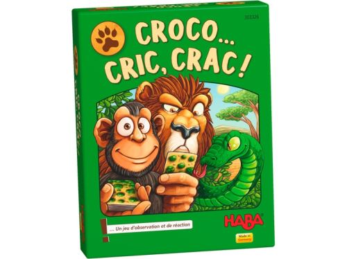 Jeu de cartes Croco…Cric, Crac ! Haba