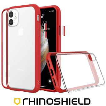 Coque Modulaire Rhinoshield Mod NX Rouge pour Apple iPhone 11