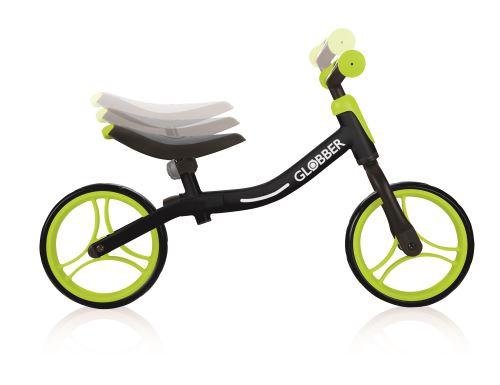 Globber Go Bike loopfiets Draisienne à 2 Roues 10 pouces Junior Noir/Vert