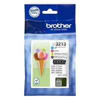 Pack de 4 cartouches d'encre Brother LC3213
