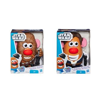 Figurine Star Wars Han Solo Mr. Patate Modèle aléatoire