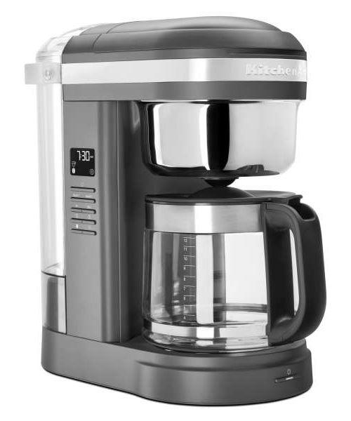 Cafetière filtre KitchenAid 5KCM1209EDG Drip Coffee Gris Mat