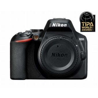 Reflex Nikon D3500 + Objectif AF-S DX 18-105 mm f/3.5-5.6G ED VR Noir