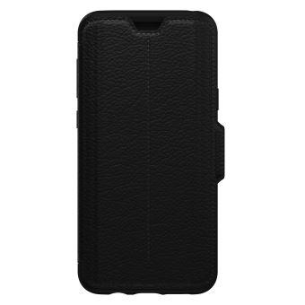 best website f65c6 959a4 Etui Folio OtterBox Strada Noir pour Samsung Galaxy S9+