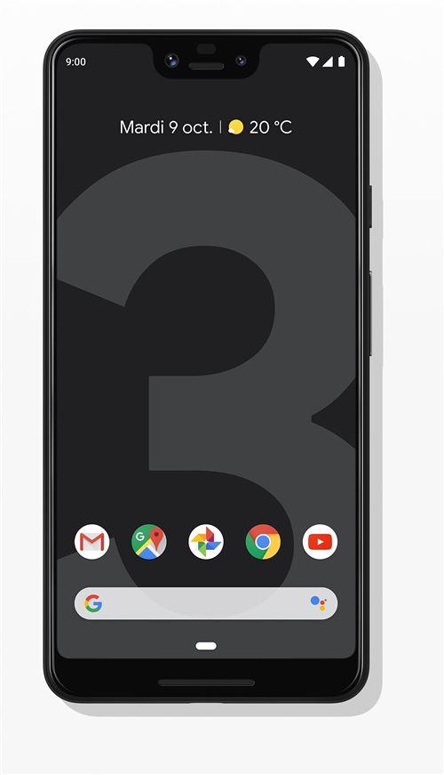 Smartphone Google Pixel 3 XL 64 Go Simplement noir