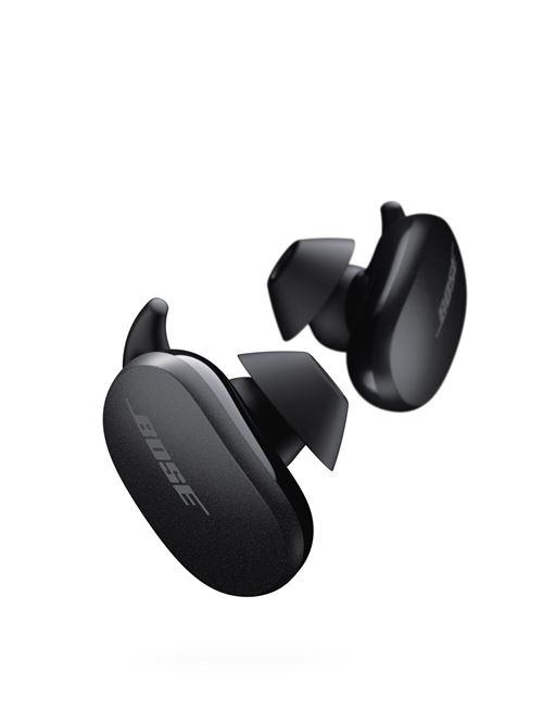 Ecouteurs sans fil bluetooth à réduction de bruit active Bose QuietComfort Earbuds noir