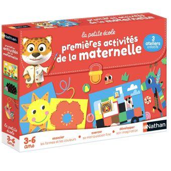 Coffret Creatif Les Ateliers De La Maternelle Nathan Autre Jeu Creatif Achat Prix Fnac