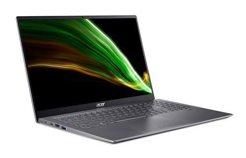 "PC Portable Acer Swift 3 SF316-51-70UU 16.1"" Intel Core i7 16 Go RAM 512 Go SSD Gris"