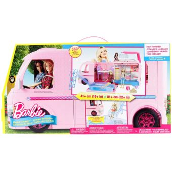 Playset Barbie Dreamcamper Camping Car Transformable
