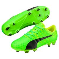 Chaussures de football Enfant Puma Evopower Vigor 3 Vertes Taille 38.5