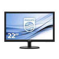 """Philips V-line 223V5LHSB2 - écran LED - 22"""""""