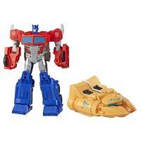 Robot combinable Optimus Prime 30 cm Transformers Cyberverse avec véhicule Ark