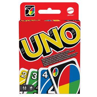 uno jeu de carte Jeu de cartes Uno Mattel   Jeu de cartes   Achat & prix | fnac