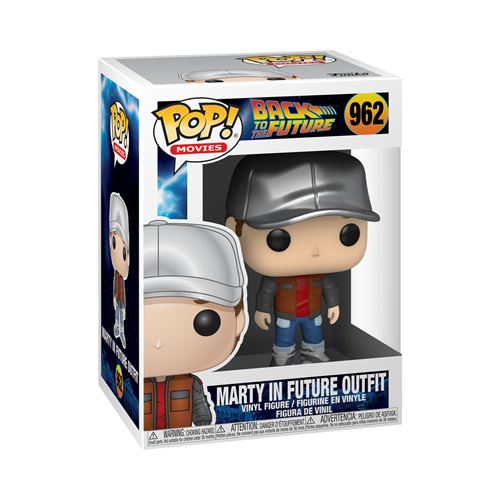 Figurine Funko Pop Movies Back to the Future Marty in Future Outfit