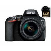 Nikon D3500 Reflex Behuizing Zwart + Nikkor AF-P DX 18-55mm f/3.5-5.6 VR Lens Zwart