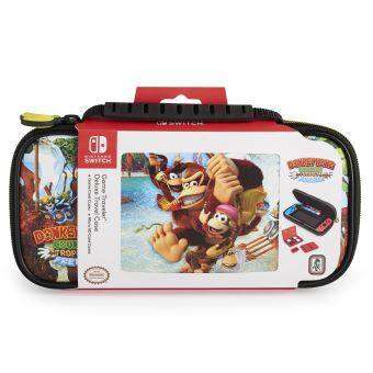 BIGBEN DONKEY KONG TROPIC FREEZE TRAVEL CASE SWITCH