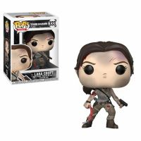 TOMB RAIDER-BOBBLE HEAD POP N°333-LARA CROFT
