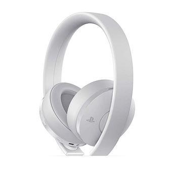 Casque Sans Fil Sony Gold Blanc Pour Ps4 Accessoire Console De