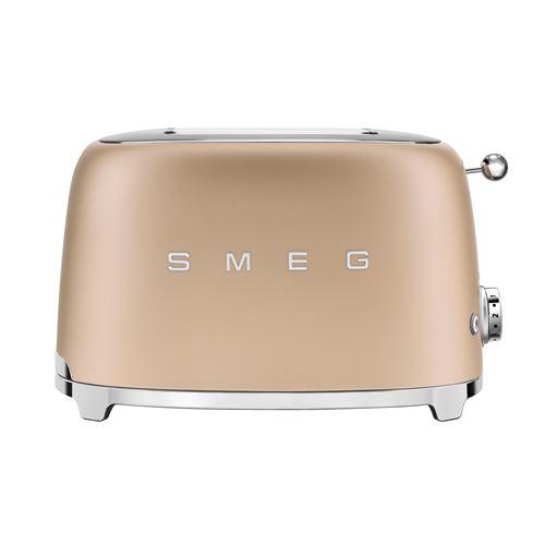 Grille pain Smeg TSF01CHMEU 2 fentes 950 W Or