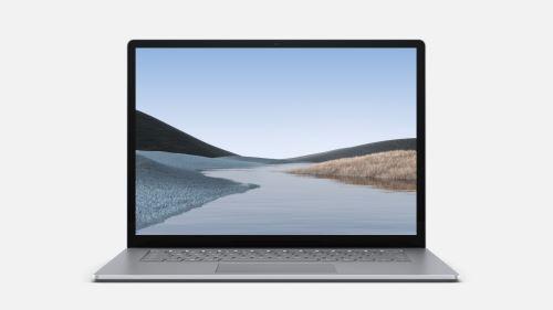 PC Ultra-Portable Microsoft Surface Laptop 3 15'' AMD Ryzen 5 8 Go RAM 128 Go SSD Platine