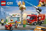 LEGO® City Action 60214 L'intervention des pompiers au restaurant de hamburgers
