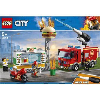 LEGO® City Action 60214 L'intervention des pompiers au restaurant de hamburgers