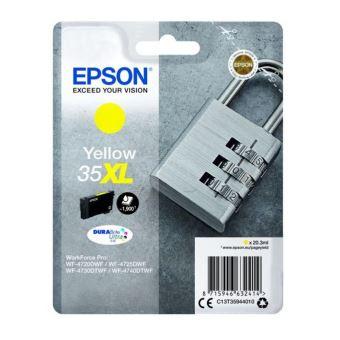 Epson 35XL - XL - geel - origineel - inktcartridge