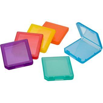 Pack de 6 boîtes de rangement BigBen pour jeux Nintendo New 3DS