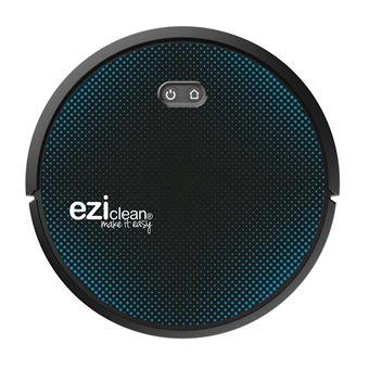 Aspirateur robot Eziclean Aqua Connect x550 Noir et Bleu