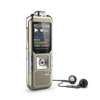 Dictaphone Philips DVT6510 Voice Tracer Champagne