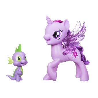 MLP MOVIE TWILIGHT SPARKLE & SPIKE