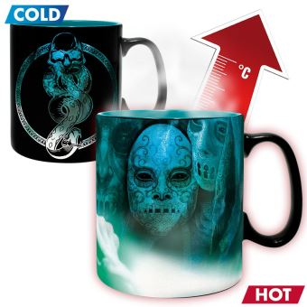 Taza termocromática Harry Potter - Voldemort