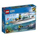 LEGO® City 60221 Le yacht de plongée
