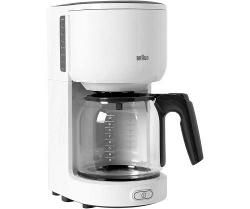 Cafetière à filtre Braun KF 3100 1000 W Blanc