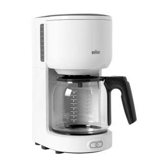 Braun KF 3100 Filtre MacHine à Café Blanc