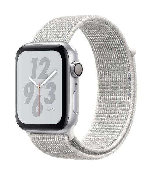 Apple Watch Series 4 Nike+ 44 mm Boîtier en Aluminium Argent avec Boucle Sport Nike Blanc polaire - Montre connectée. Remise permanente de 5% pour les adhérents. Commandez vos produits high-tech au meilleur prix en ligne et retirez-les en magasin.
