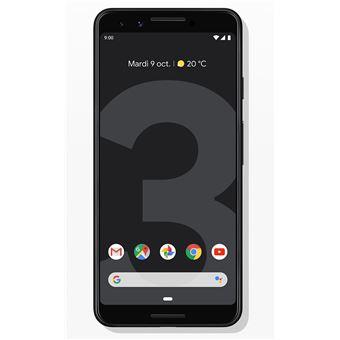 100 Sur Smartphone Google Pixel 3 64 Go Simplement Noir