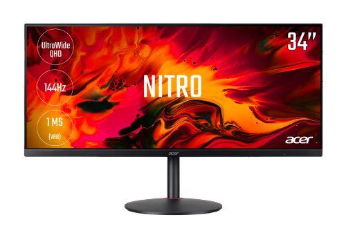 Ecran PC Gaming Acer Nitro Xv340ckpbmiipphzx 34