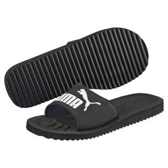 chaussures de sport 6ef94 d362c Tongs claquettes Puma Purecat black/white Noir taille : 42 réf : 55530