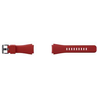 SAMSUNG WRIST STRAP SILICONE ORANGE/RED GEAR S3