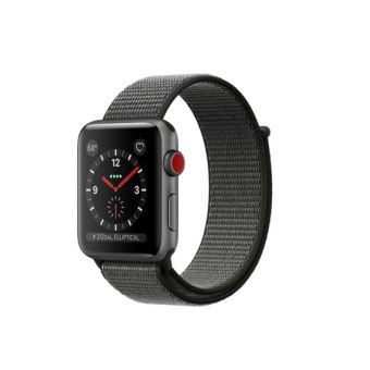 apple watch series 3 cellular 42 mm bo tier en aluminium. Black Bedroom Furniture Sets. Home Design Ideas