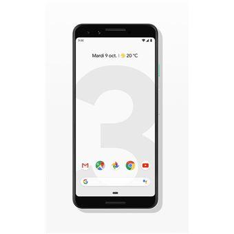 Smartphone Google Pixel 3 64 Go Résolument blanc